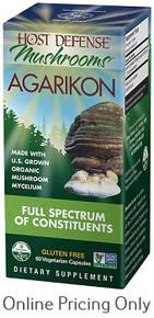 Host Defense Agarikon 60vcaps