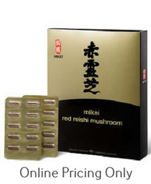 MIKEI RED REISHI MUSHROOM 60vcaps