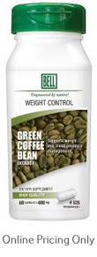 Bell Green Coffee Bean Extract 400mg 60caps