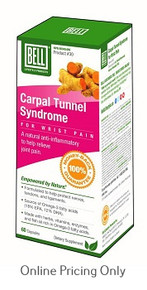 Bell Carpal Tunnel Syndrome for Wrist Pain 60caps
