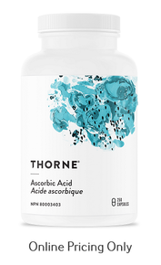 Thorne Ascorbic Acid 250caps