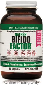 Natren Bifido Factor Dairy Free 60caps