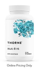 Thorne Multi-B #6 60vcaps