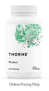 Thorne Rhodiola 100mg 60caps