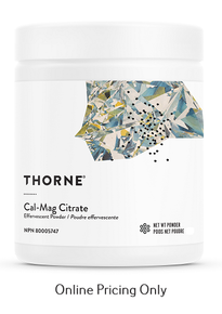 Thorne Cal-Mag Citrate Powder 227g