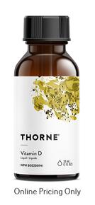 Thorne Vitamin D Liquid 30ml