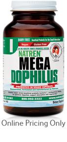 Natren Megadophilus Dairy Free 60caps