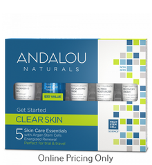 Andalou Naturals Get Started Clarifying Kit