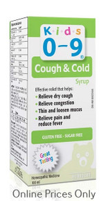 Homeocan Kids 0 - 9 Cough & Cold Daytime 100ml