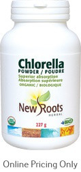 New Roots Chlorella Certified Organic 227g