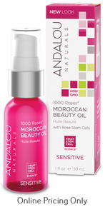 Andalou Naturals 1000 Roses Moroccan Beauty Oil 30ml