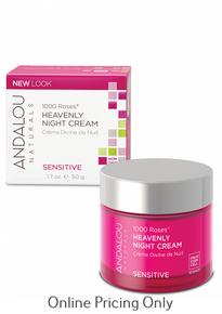 Andalou Naturals 1000 Roses Heavenly Night Cream 50ml