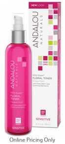 Andalou Naturals 1000 Roses Floral Toner 178ml