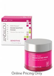 Andalou Naturals 1000 Roses Rosewater Mask 50ml