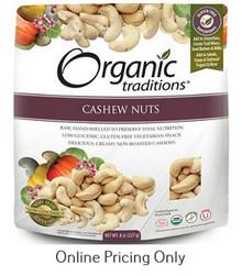 ORGANIC TRADITIONS CASHEW NUTS 227g