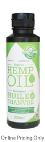 Manitoba Harvest Certified Organic Hemp Seed Oil 250ml