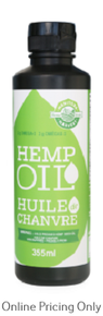 Manitoba Harvest Hemp Seed Oil Cold Pressed 355ml