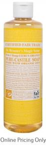 Dr. Bronner's Citrus Orange Castile Soap 472ml