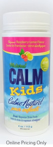 Natural Calm Magnesium Citrate Kids Raspberry Lemon 113g