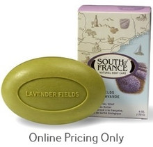 South of France Lavender Fields Bar Soap 170g
