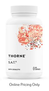 Thorne S.A.T. 60vcaps
