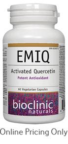 BIOCLINIC NATURALS EMIQ ACTIVATED QUERCETIN 60vcaps