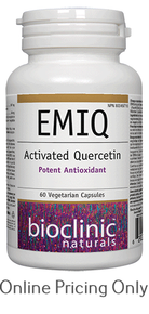 BioClinic Naturals EMIQ Activated Quercetin 60vcaps