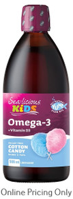 Sea-licious Kids Omega 3 Cotton Candy 500ml