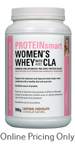 Lorna Vanderhaeghe Protein Smart Women's Whey With CLA Chocolate 908g