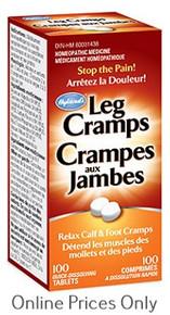 Hylands Leg Cramps + Quinine 100tabs