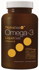 NutraSea + D Omega 3 60sg