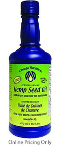 Omega Nutrition Hemp Seed Oil 473ml