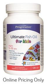 Progressive Ultimate Fish Oil for Kids 120caps