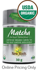 New Roots Organic Matcha Green Tea 30g