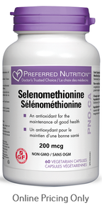 WomenSense Selenomethionine 200mcg 60caps