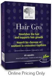 New Nordic Hair Gro 60caps
