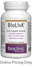 BioClinic Naturals Bio Liv X 90vcaps