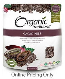 Organic Traditions Cacao Nibs 227g