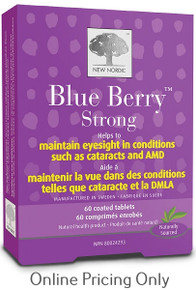 NEW NORDIC BLUE BERRY STRONG 60tabs