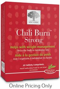 New Nordic Chili Burn 1100mg 60tabs