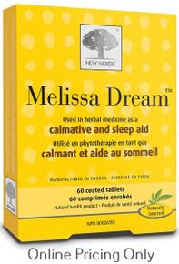 New Nordic Melissa Dream 60tabs