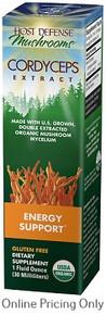 Host Defense Cordyceps Extract 30ml