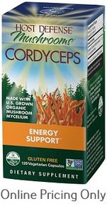 Host Defense Cordyceps 120vcaps