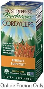 Host Defense Cordyceps 60vcaps