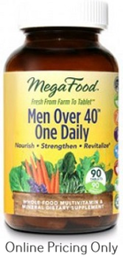 MegaFood Men Over 40 One Daily 90tabs