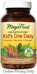 MegaFood Kid's One Daily 60tabs