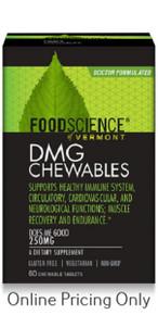 FoodScience Aangamik DMG 250mg 60tabs