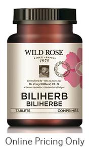 Wild Rose Biliherb 60tabs