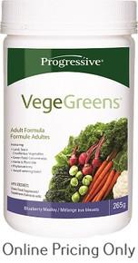 Progressive Vege Greens Blueberry 265g
