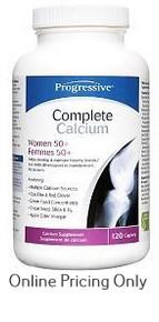 Progressive Complete Cal Women 50+ 120caps